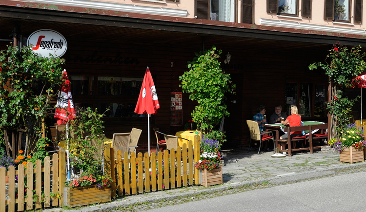 Café Theresia Freischlager in Maria Schmolln - Gastgarten