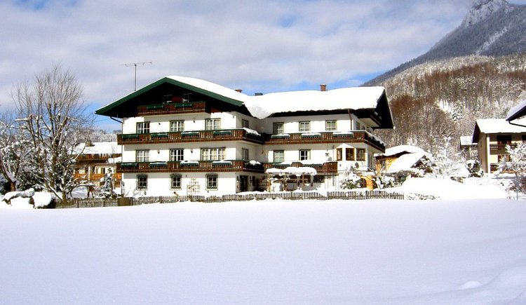 Exterior view in winter
