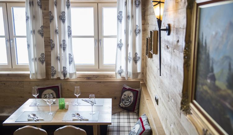 Restaurant im COOEE alpin Hotel Dachstein. (© cooee-alpin-hotel-dachstein)