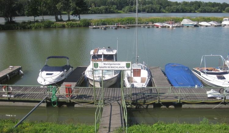 Schiffsanlegestelle Au an der Donau. (© Schiffsanlegestelle Au an der Donau © WGD Donau Oberösterreich_Projektkraft)