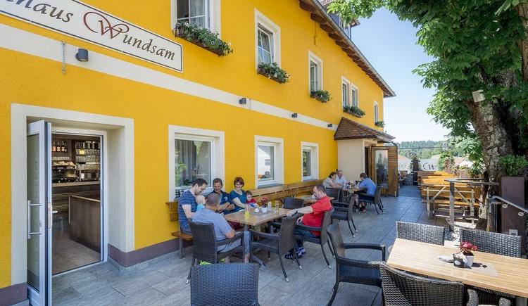 Gasthaus Wundsam Gastgarten