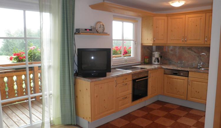 Küche in der Ferienwohnung (© Vorderschwandtgut - Fam. Wörndl)