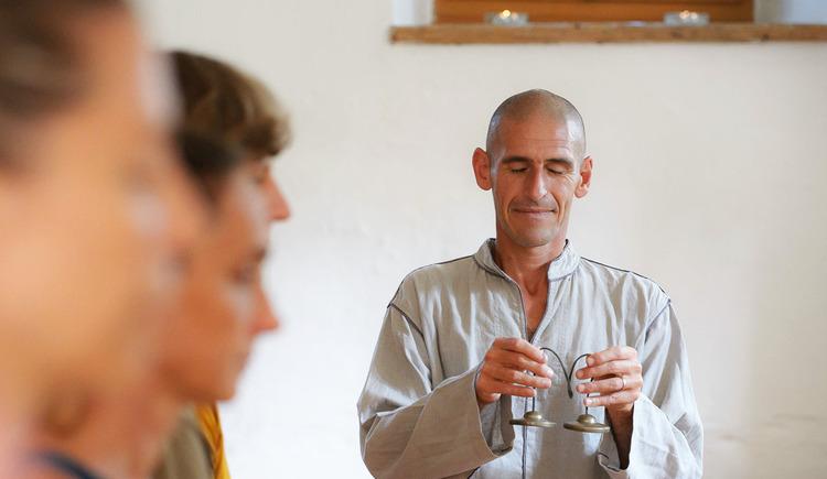 Yoga und Meditations Workshop. (© Florian Palzinsky)
