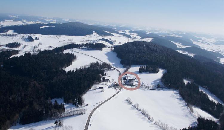 unsere Landschaft im Winter