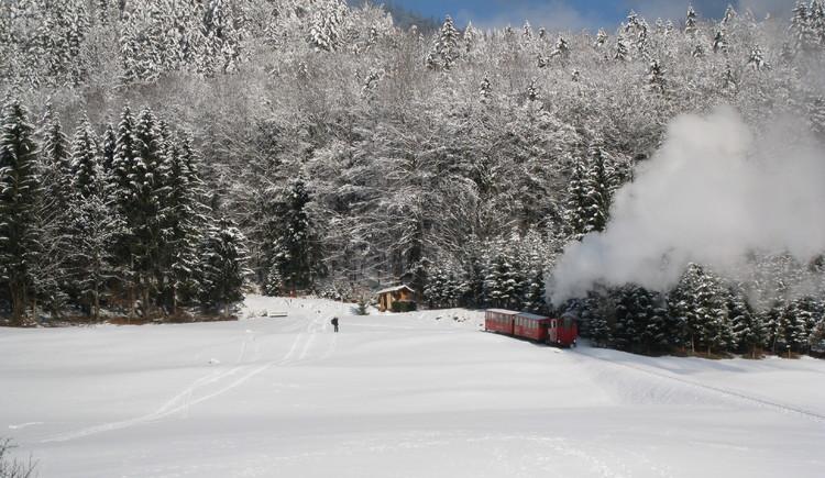 Aschinger mit Schafbergbahn. (© WTG)