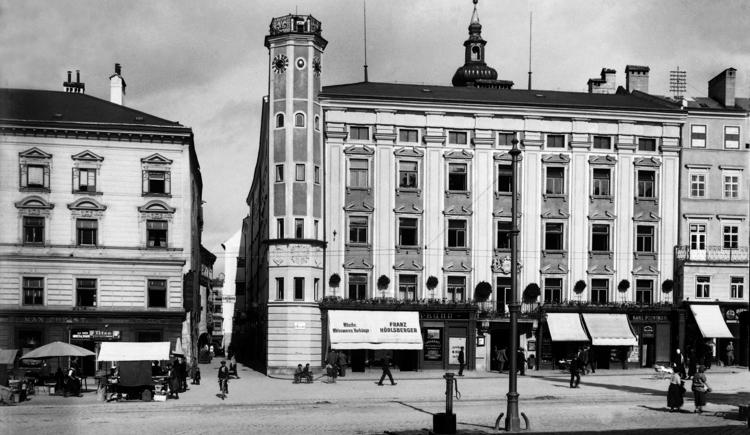 Altes Rathaus vor 1938 (© © Archiv der Stadt Linz)