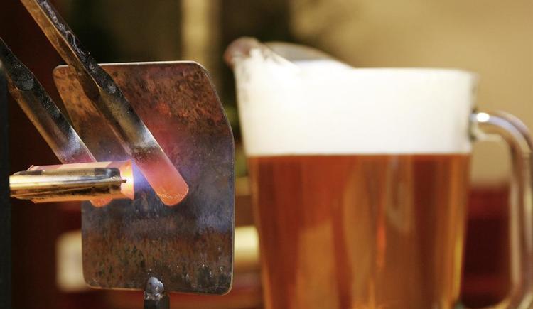 Bier stacheln (© Biergasthaus Schiffner)