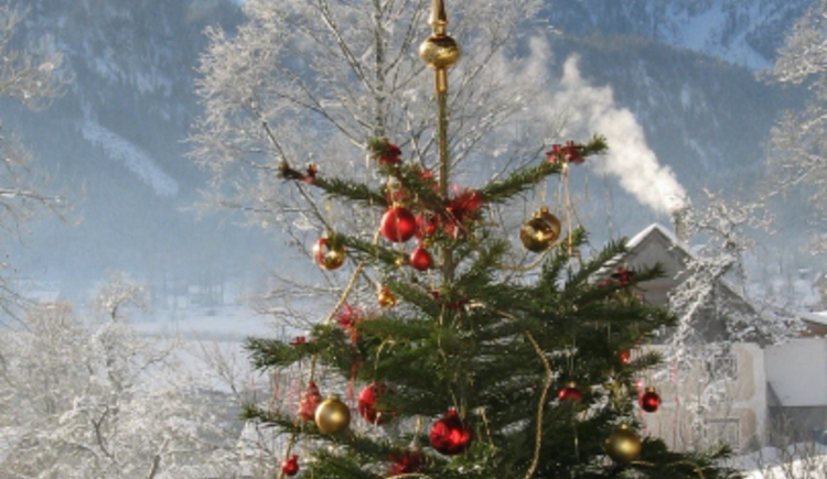 Weihnachten in Gosau. (© Sieglinde Gamsjäger)