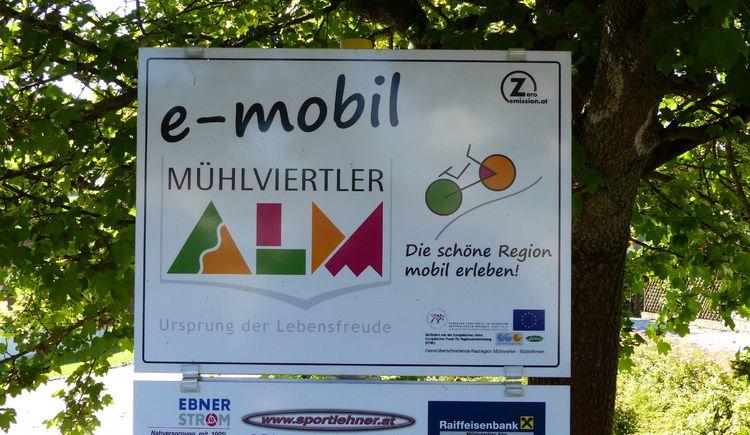 E-Bike-Ladestation (© Marktgemeinde Königswiesen)