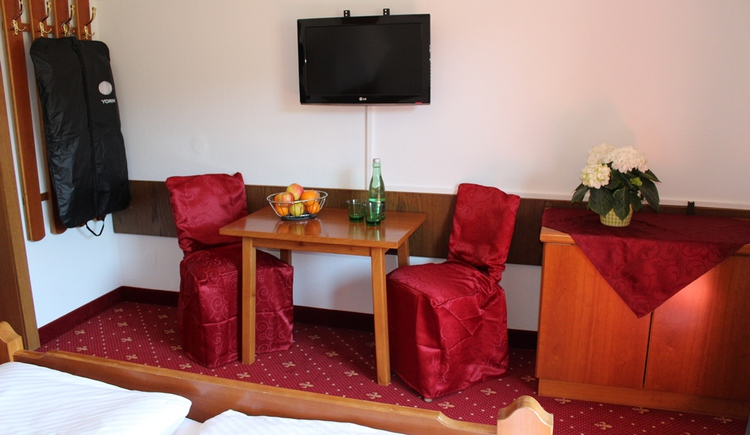 Enjoy your stay in the comfortably furnished rooms