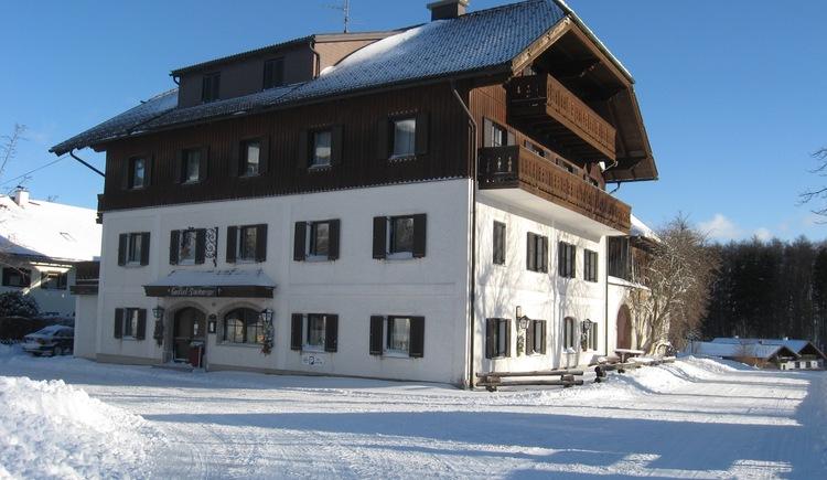 Gasthof Steinberger, Wildenhag, Winterlandschaft. (© Gasthof Steinberger)