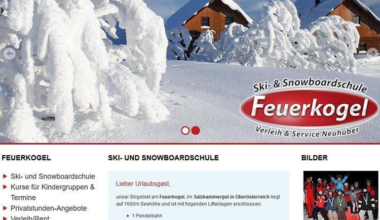 Ski- und Snowboardschule Feuerkogel - Verleih & Se (© homepage www.skischule-feuerkogel.at)