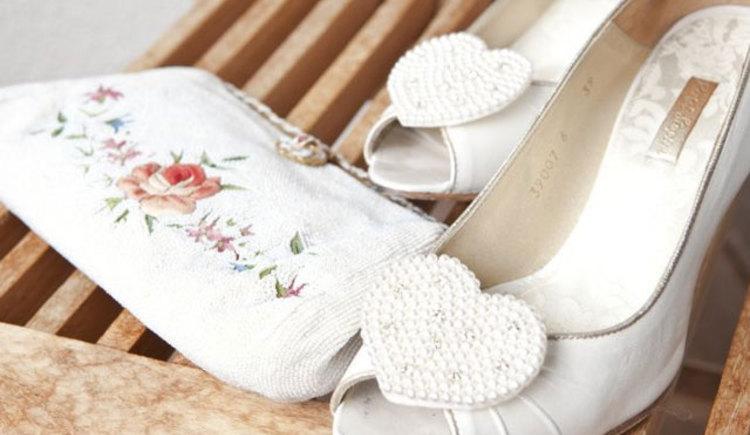 Brautschuhe (© sagJa - Hochzeitsplanerin Gabi Socher)