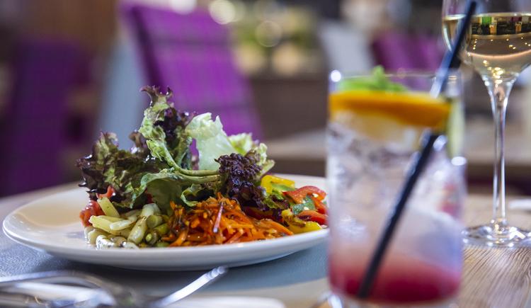 Gastronomie, Restaurant im COOEE alpin Hotel Dachstein. (© cooee-alpin-hotel-dachstein)