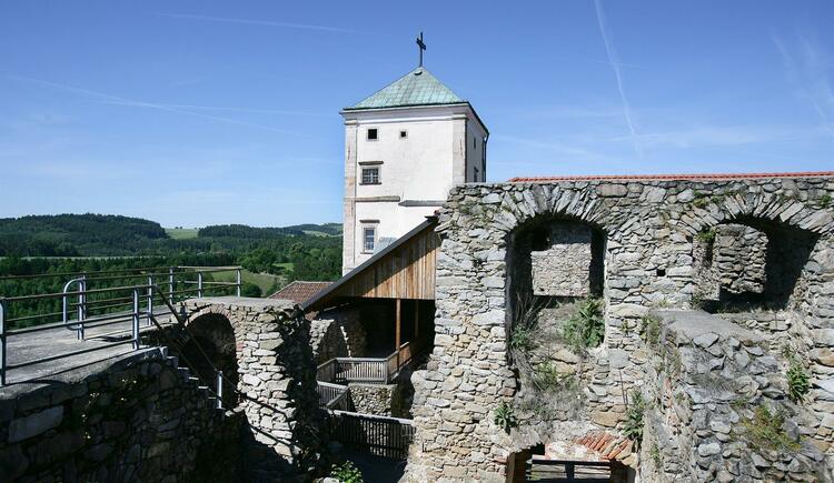 Mauerkrone (© Gästehaus Schloss Riedegg)