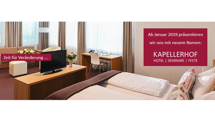 Aus Gästehaus St. Anna wird der Kapellerhof - Hotel-Seminare-Feste in Stadl-Paura. (© Hotel Kapellerhof Stadl-Paura)