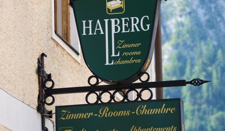 Die Pension Hallberg im Zentrum von Hallstatt
