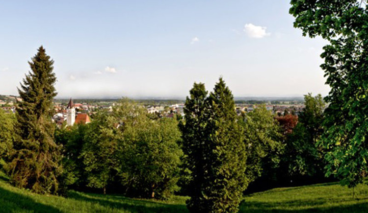 Panoramablick Perg Kalvarienberg (© WGD Donau Oberösterreich_Projektkraft)