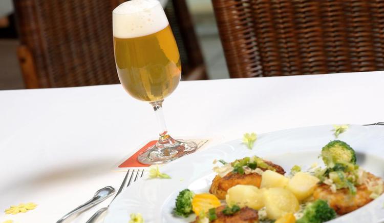 Bier trifft Gemüse (© Biergasthaus Schiffner)