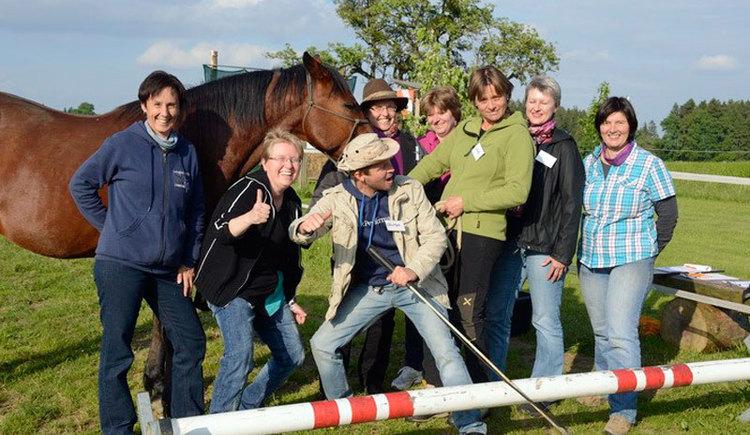 Lust am Leben Outdoor Adventure Lernen mit Pferden. (© Lust am Leben Outdoor Adventure)