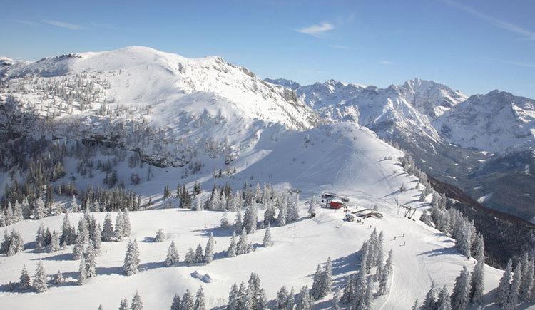 Wintergenuss & Wintersport im Almtal. (© STMG)