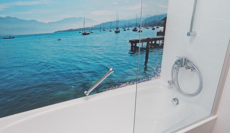 Ferienhaus Malerhügel, Badezimmer