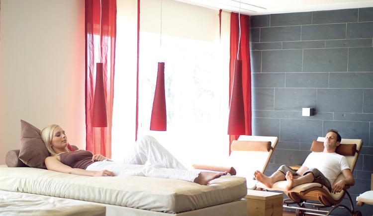 Ruheraum im ****S Genuss- und Wellnesshotel Almesberger (© ****S Almesberger)