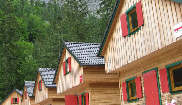 Ansicht der Häuser