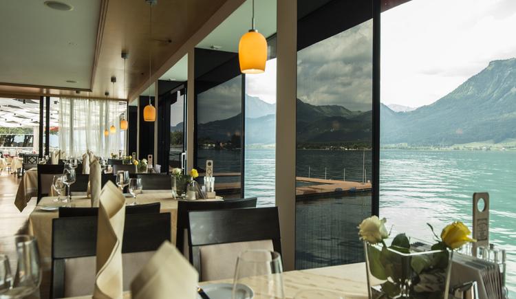Restaurant im Weissen Rössl täglich ab 10 Uhr geöffnet. (© Romantik Hotel Im Weissen Rössl)