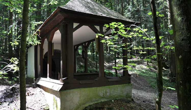 chapel, trees