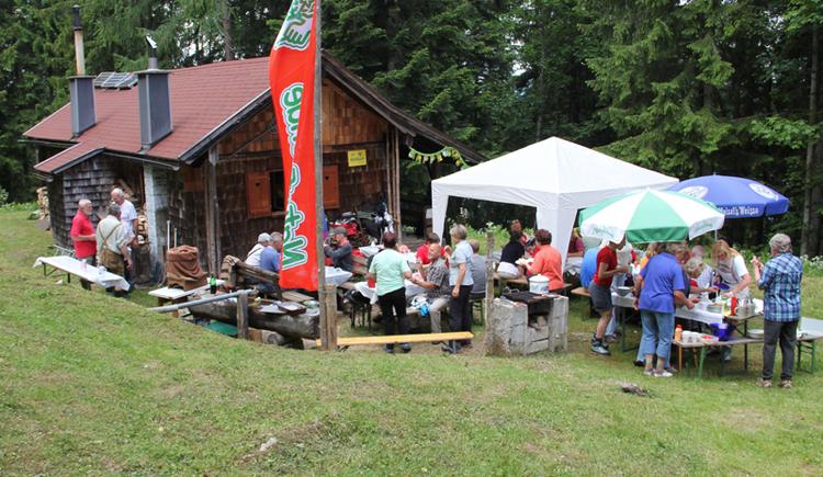 Fest auf der Rettenkogelhütte