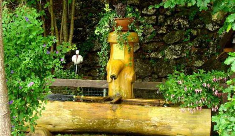 Eigene Quelle mit belebtem Wasser