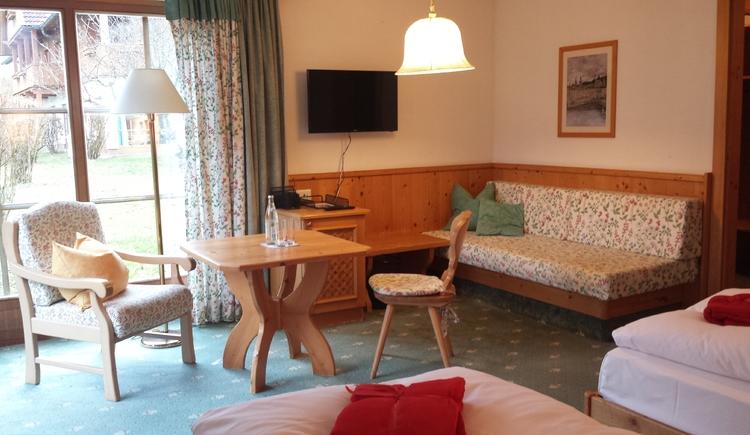Hotelzimmer. (© Michaela Zwiener)