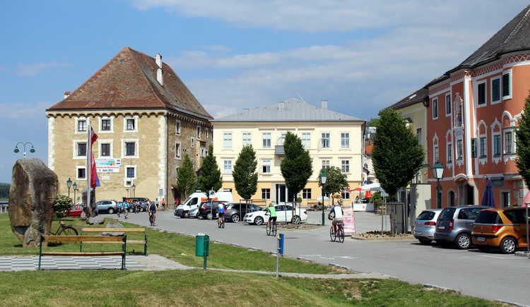 Mauthausen an der Donau - der Heindlkai