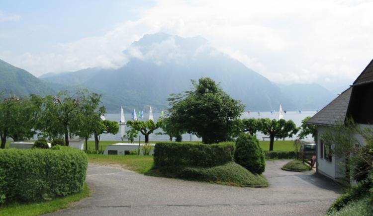 Campingplatz Traunsee Aussicht