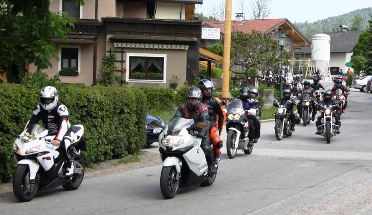 Motorradtour (© Tourismus Verband Faistenau)