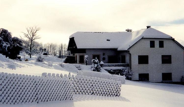 Pension Fuchs im Winter 2 (© Privat)