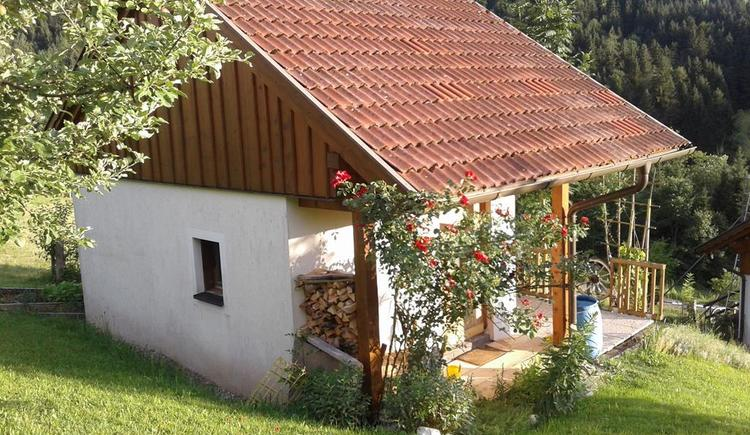 Almrosen Hütte am Wurbauerkogel (© Günter Tannwalder)