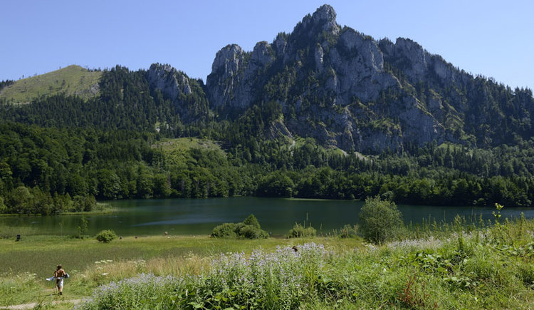 Laudachsee und Katzenstein (© TVB Ferienregion Traunsee)