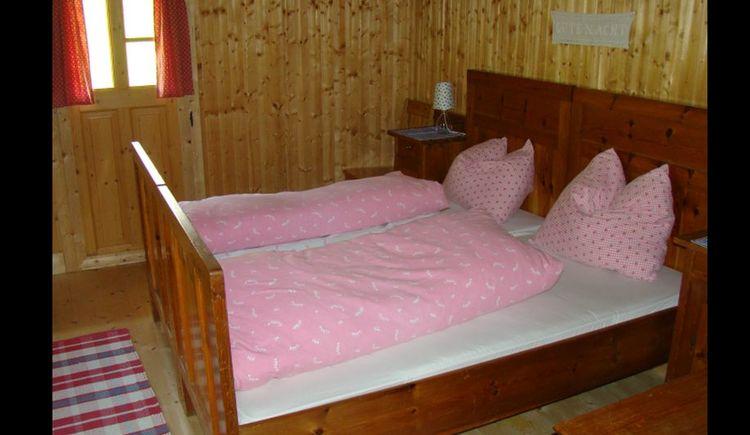 Schlafzimmer Alpin Hütte