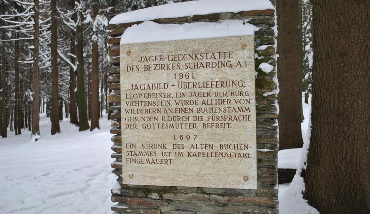Bezirksjägergedenkstätte (© Gemeinde Vichtenstein)