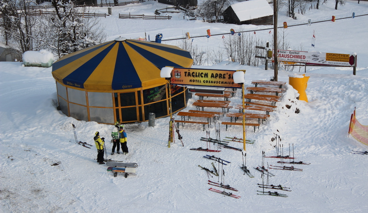 For the daily aprés ski party