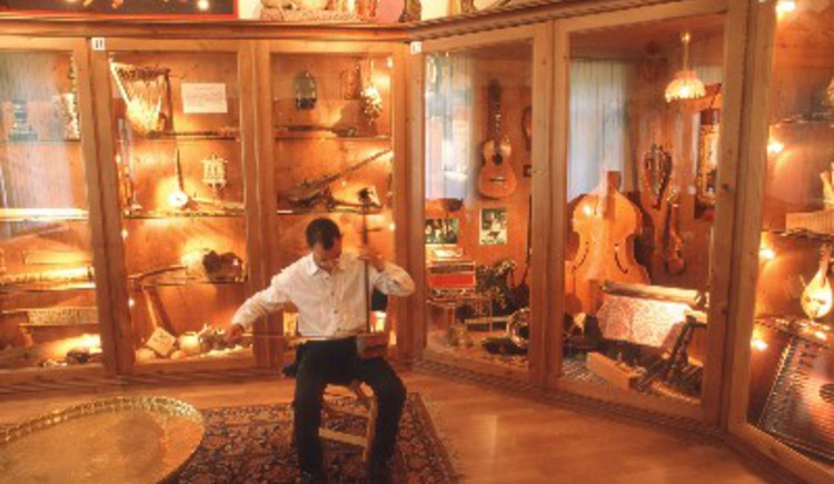 Musikinstrumentemuseum. (© TVB)