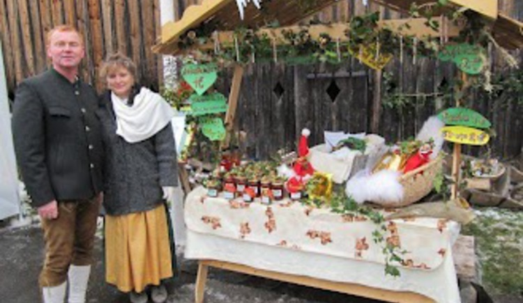 Andreaskirtag - Stand Familie Lublasser