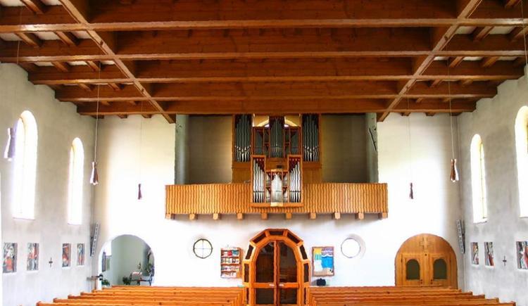 Pfarrkirche Klaffer innen (© Bernhard Krenn)