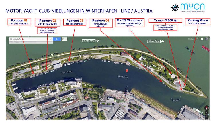 Bootsanlegestelle Linz-Winterhafen
