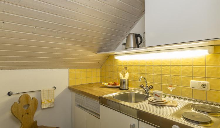 3 Mäderlhaus Wohnung Abendsonne Küche