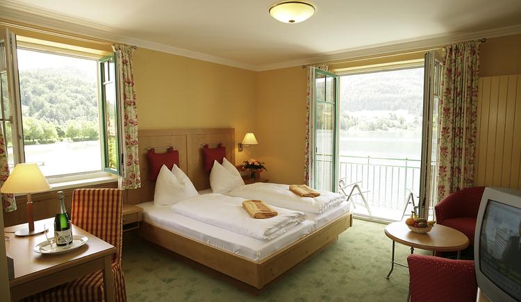Seerose Doppelzimmer (© Hotel Seerose)
