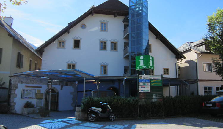 Tourismusbüro Bad Goisern. (© Unterberger)