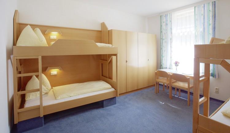 Zimmer Jugendgästehaus Bad Ischl. (© OÖJHV)